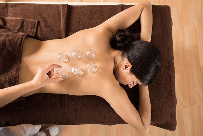 cupping and massage